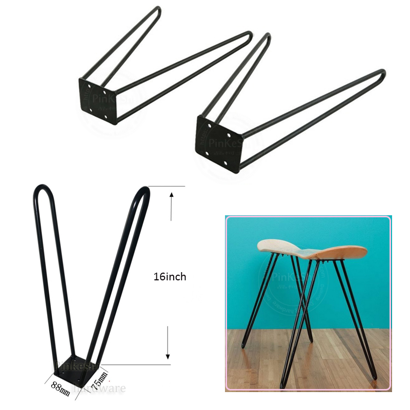 16inch Metal Solid Table Legs 1 Piece Furniture Desk Legs DIY Table Hardware Laptop Support Accessories