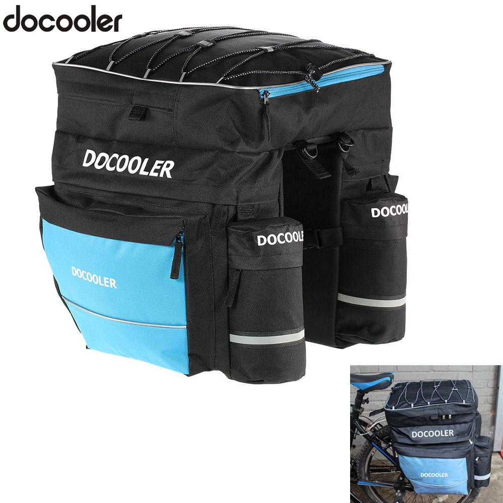 Bicycle Basket 38l Cycling Bike Pannier Double Side Rear