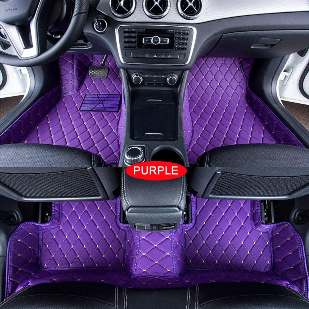 Tapis de sol de voiture pour BMW MINI 2/4/5/6 portes tapis tapis de voiture tapis de revêtement de pied sur mesure