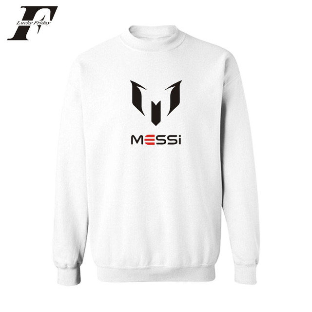 7a6b89073 2017 Messi men and women jacket Dongkuan cotton printed hoodies sweatshirts  without cap tracksuit survetment plus size