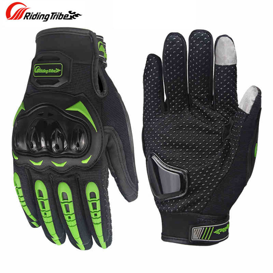 Men Motorcycle Racing Gloves Motorbike Breathable Mesh Fabric Cycling Gloves Moto Luvas Guantes