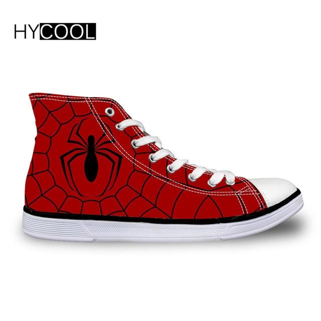 HYCOOL Spider Man impreso niños zapatillas niños zapatos deportivos al aire  libre estudiantes diario caminar botas. Sitúa el cursor encima para ... 61ba9f93b6aaf
