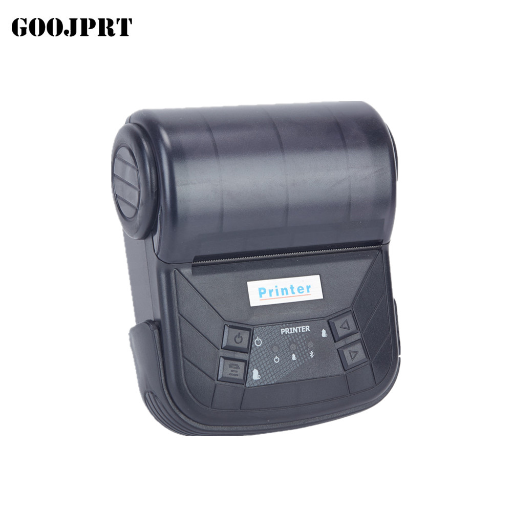 Mini 58mm Thermal Printer USB Portable Bluetooth Printer Label Printer Bluetooth Bar Code Printer for Windows Android POS mtp 3 small portable bluetooth thermal printer 80mm sticker printer ticket printer support andrews apple phone 1pc