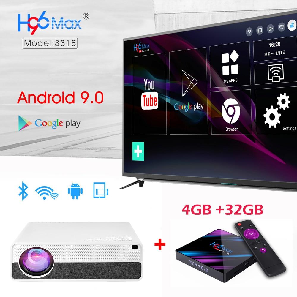 Vivicine M19 plus récent 1080p projecteur, Option Android 9.0 HDMI USB PC 1920x1080 LED full hd Home cinéma vidéoprojecteur Proyector - 5