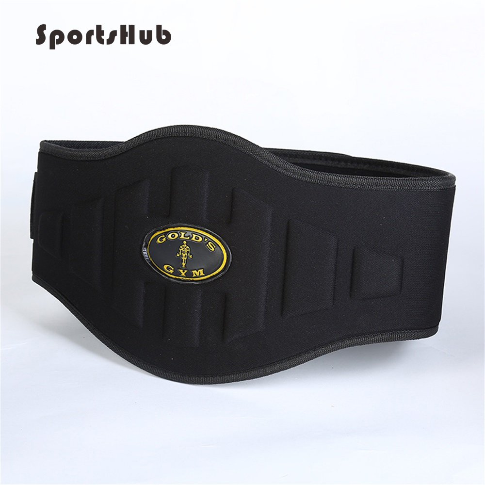 SPORTSHUB Durable Nylon Weight Lifting Belt Crossfit Dumbbells Gym Belt Protect Waist Fitness Bodybuilding Training Belt EF0026