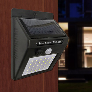 Image 3 - الطاقة الشمسية مصباح حديقة 100 LED تعمل بالطاقة الشمسية PIR محس حركة مصباح مقاوم للماء في الهواء الطلق إضاءة للتزيين أضواء لاسلكية الجدار مصباح