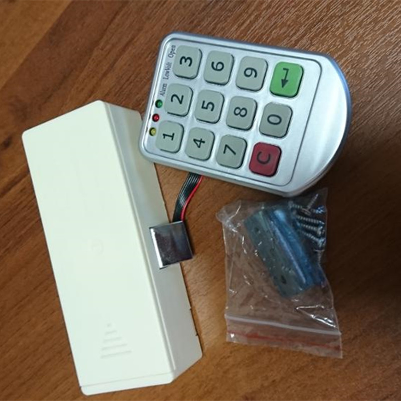 Electronic Digital Password Lock Combination Lock Digital Keypad Number Door Lock Cabinet Code Password Lock lock