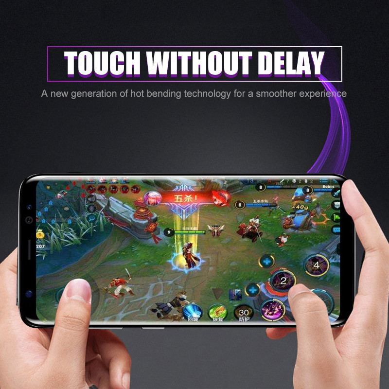 Image 4 - 10D изогнутое закаленное стекло для samsung Galaxy S9 S8 S7 Edge Note 8 9 S10e S10 Plus Защитная пленка для экрана-in Защитные стёкла и плёнки from Мобильные телефоны и телекоммуникации