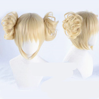 Japanese Comic My Hero Academia Boku No Hero Academia Himiko Toga Blonde Short Cosplay Full Wig
