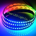 1m APA102 Smart led pixel strip, 30//60/144 leds/pixels/m,IP20/IP65 APA102C-5050 LED DATA and CLOCK separately DC5V