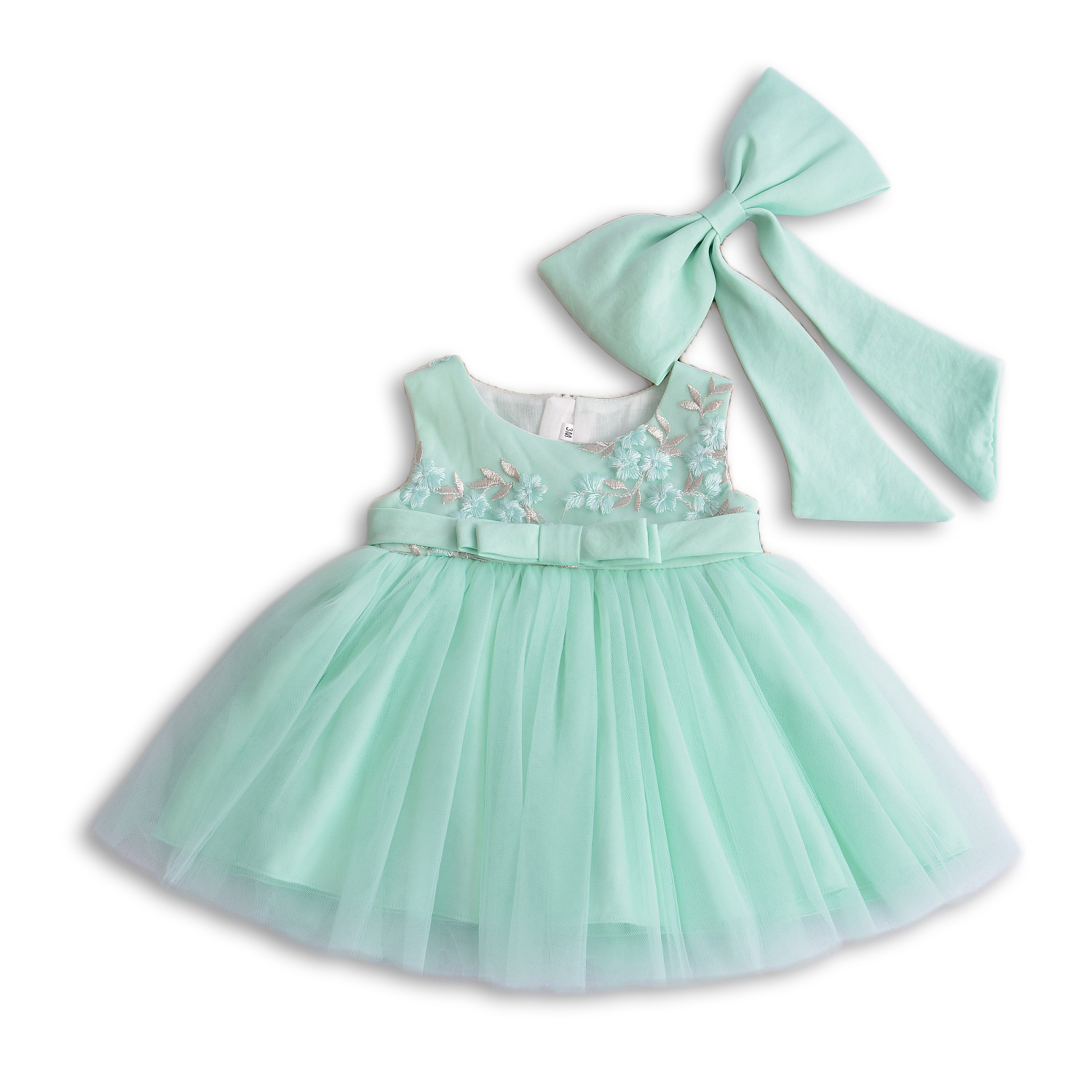 6639f0c1bd60 Green Bow 1 Year Old Birthday Baby Girl Dress Party Wear Vestido Summer  2018 Toddler Baby Girls Clothes 3 to 24 Month RBF184036-in Dresses from  Mother ...