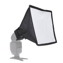 15x17cm Foldable Softbox Mini Universal PVC Flash Light Diffuser Lightweight Photo Flashlight Soft box Photography Accessories