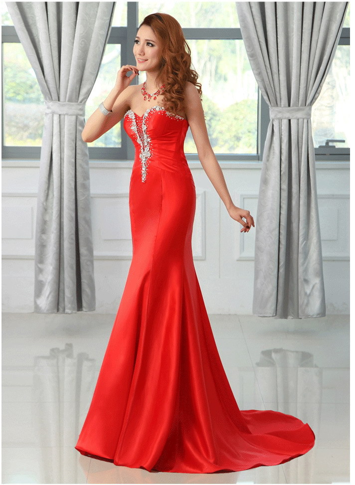 free limited shipping new 2014 clothing women long evening