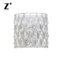 Teardrop K9 Crystal Sconce Glass lustre Wall Lamp