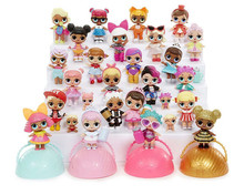 Surprise dolls Unpacking Dolls Dress Up Toys 9.5cm Models Baby Funny Toys Girl Boy Gifts doll surprise lol
