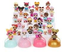 Сюрприз куклы распаковки Куклы Наряжаться Игрушечные лошадки 9.5 см модели детские смешные Игрушечные лошадки для девочек и мальчиков Подарки Кукла сюрприз LOL