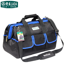 1pcs LAOA 600D Messanger Tool bag Large capacity  Repair tool kit bags storage for Electricians Tools