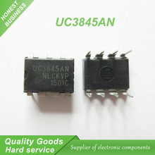 10pcs UC3845AN UC3845 DIP-8 Switching Controllers Current Mode  new original