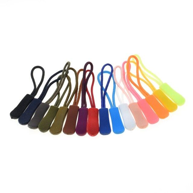 3 шт. застежка-молния шнур веревка концы замок молния зажим Пряжка для Аксессуары для параконда/рюкзак/одежда 16 цветов