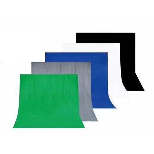 Écran de toile de fond de Studio de photographie de fond de mousseline de coton sans couture de 10ft 7ft