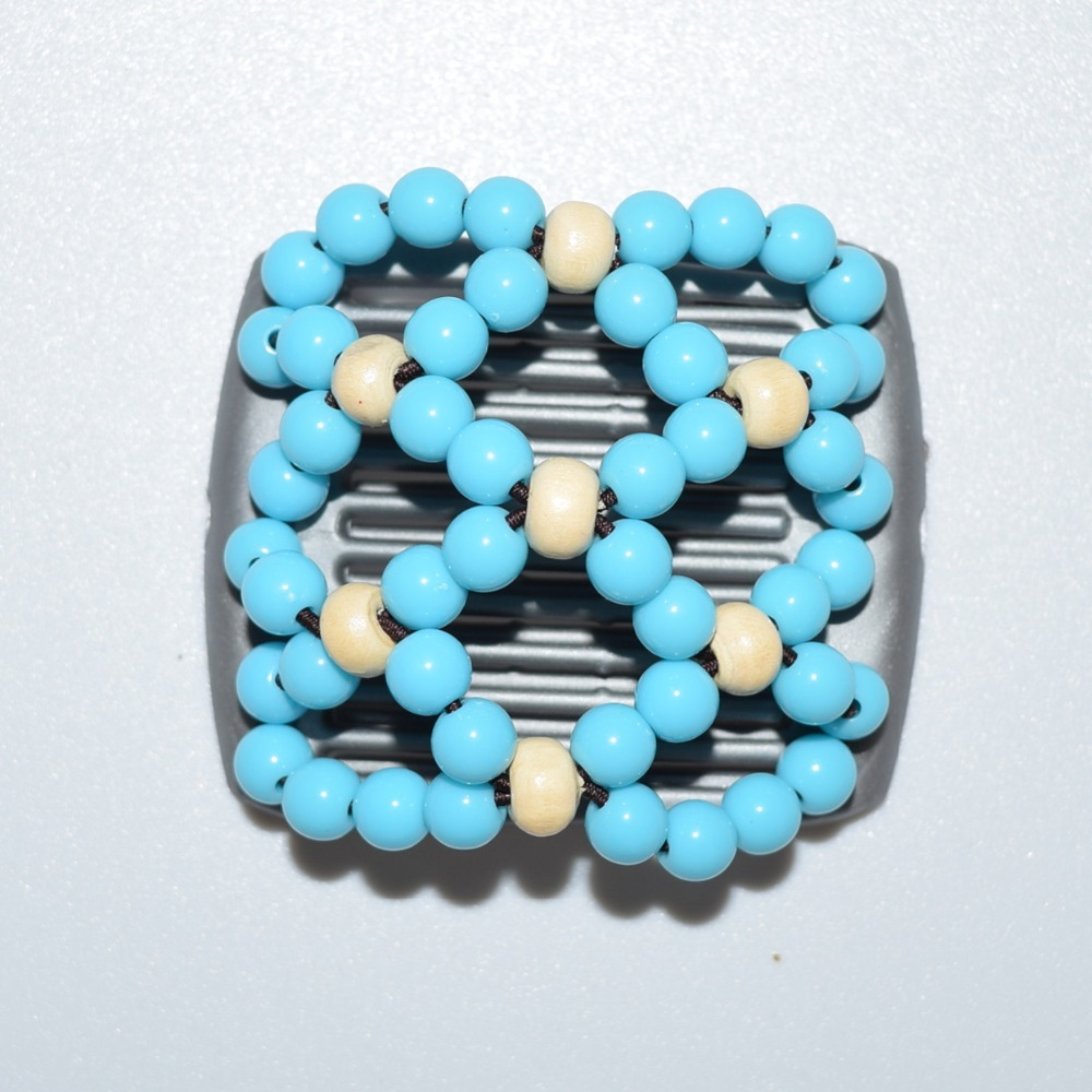Small Size Beads: White Blue Pearl Beads Small Size Magic Comb 40 Pcs/lot