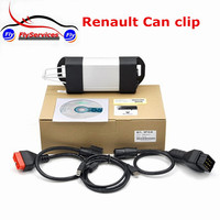 New Release Support Multi Language Car Diagnostic Tools Renault Can Clip V165 Renault OBD Auto Diagnostic Interface On Sale