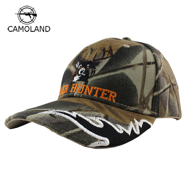 2018 New Arrival Embroidery Breathable Deer Cap Camo Caps Army Baseball  Casquette Camouflage Hats Casquette Men Desert Sun Hat a5ccfc730c2