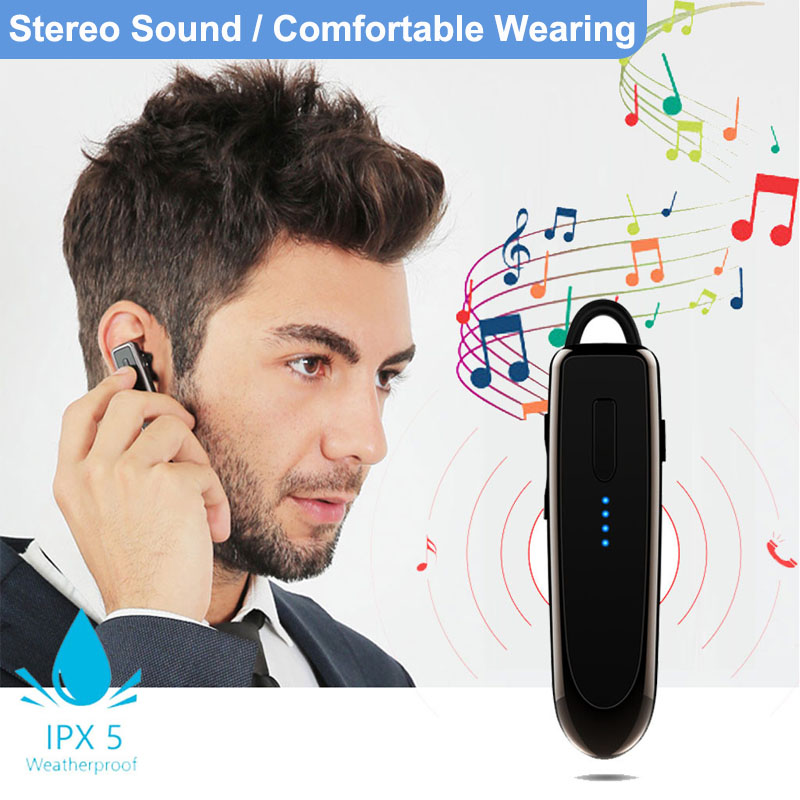 Sport Wireless Business Bluetooth Headset Long Standby Time Earbud Conference Conversation Music Headphone With Mic For Iphone Bluetooth Earphones Headphones Aliexpress