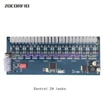 12V/24V RS485 locker Storage Cabinet controller electronic cabinet Lock Controller board 8CH 12CH 14CH 18CH 24CH 36CH smart sm354 18ch