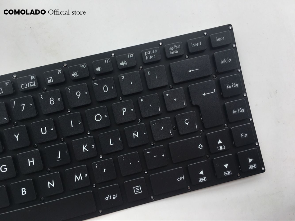 SP Spanish Keyboard For ASUS K46 K46CA K46CB K46CM S46C S46CB S46CM S46CA black Without Frame keyboard  SP Layout (2)