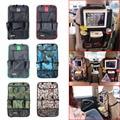 Auto Assento de Carro de Volta Organizador Saco Titular Celular Material Multi-Bolso Backseat Hanging Bag DXY
