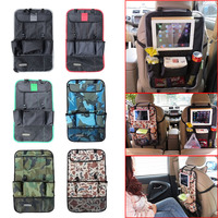 Auto Car Seat Back Organizer Holder Bag Cellphone Stuff Multi-Pocket Backseat Hanging Bag   DXY