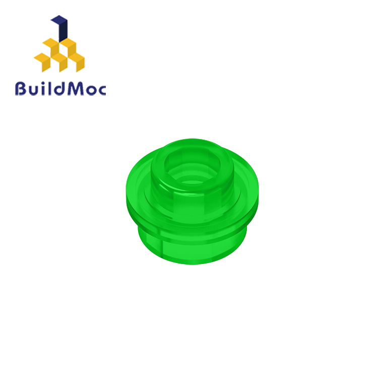 BuildMOC 85861 28626 Plate Round 1x1 With Open Stud For Building Blocks Parts DIY LOGO Educational Creative Gift Toys