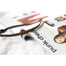 HOT SALE Bridal Wig Plait Braid Hair Band Headband Hippy Gypsy light brown