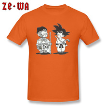 Women Men Cotton Tops & Tees Tshirts Son Goku Saiya Dragon Ball Z Funny T Shirts Best Great Nice T-Shirt Male New