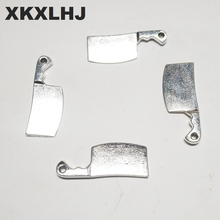 XKXLHJ 15pcs Charms kitchen knife tool 23*9mm Tibetan Silver Plated Pendants Antique Jewelry Making DIY Handmade Craft xkxlhj 15pcs charms kitchen knife tool 23 9mm tibetan silver plated pendants antique jewelry making diy handmade craft