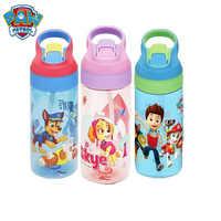 Oryginalna Paw patrol Tritan czysta butelka dla dzieci Cartoon z przyssawkami 500ml z uchwytem przenośny sportowy kubek na wodę dla dzieci zabawki prezent 1pc
