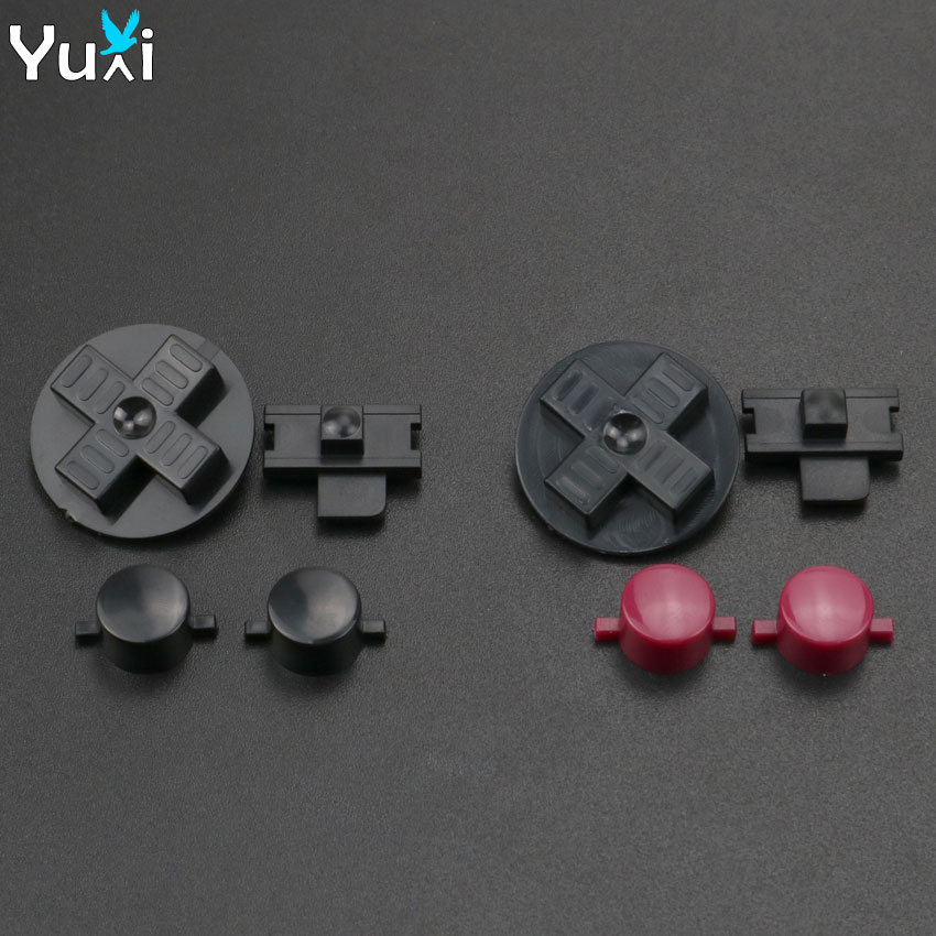 YuXi Replacement Buttons For Gameboy Classic GB Keypads For GB DMG DIY For Gameboy A B Buttons D-pad