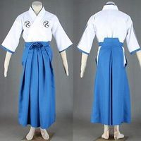 BLEACH Kurosaki ichigo Cosplay Costume College Student Kimono Full Set S 3XL