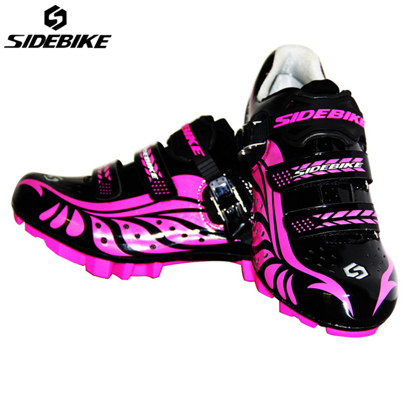 SIDEBIKE Women MTB Shoes Cycling Anti-slip Breathable Adjustable Bike Shoes Zapatillas Ciclismo Bicycle MTB Cycling Shoes west biking bike chain wheel 39 53t bicycle crank 170 175mm fit speed 9 mtb road bike cycling bicycle crank