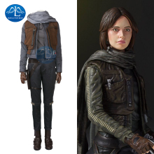 MANLUYUNXIAO 2017 New Women's Costume Jyn Erso Cosplay Costume Halloween Costumes Women's Outfit