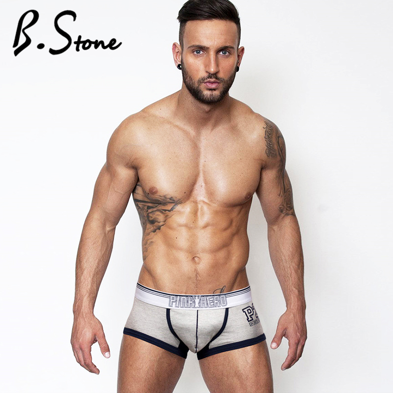 Men's Underwear Panties Shorts Sexy Male Fashion Plus-Size Cotton 4pieces Brand New Fat