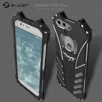 R JUST Batman Aluminum Metal Cover Case For Huawei P10 Plus P10 Lite V9 For Xiaomi