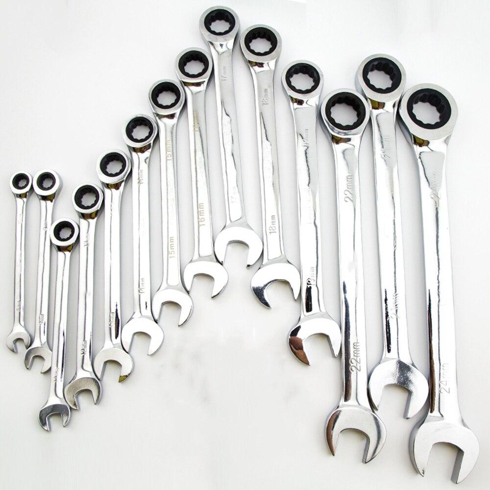 16-24mm Schlüssel Allen Schlüssel Ratsche Schraubenschlüssel Objektiv Ring Flexible Einstellbare Flexible Kopf Ratsche Spanner