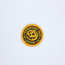 Patch chapter custom embroidery cheap price Chinese factory