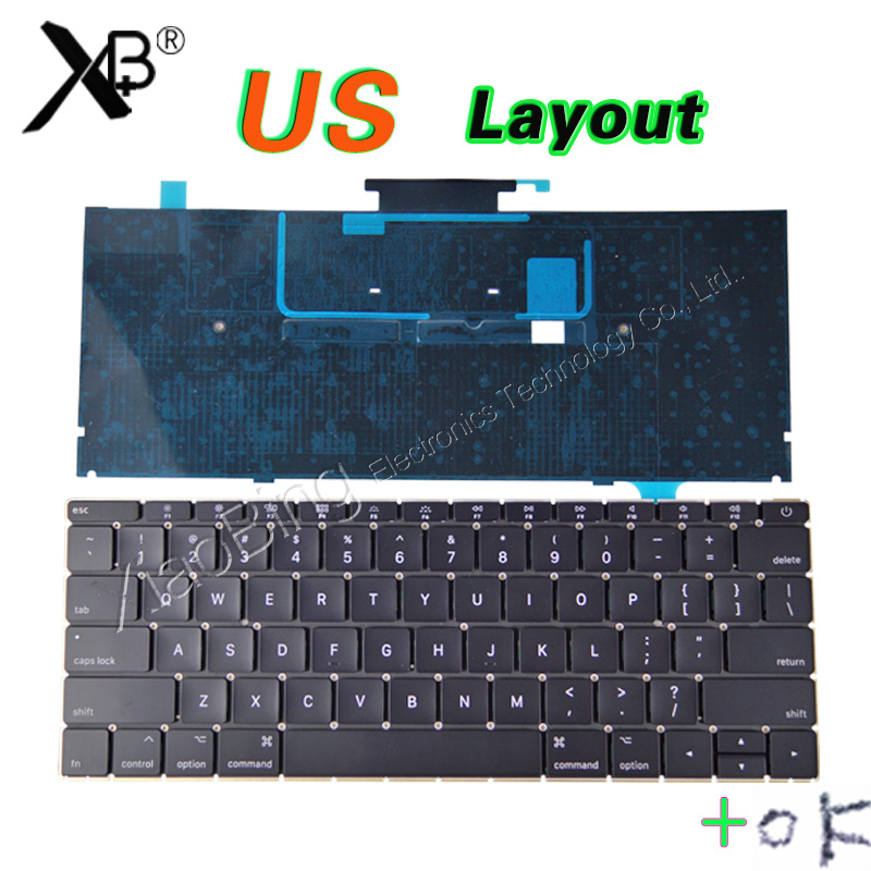 NEW A1534 Keyboard US for MacBook Retina 12