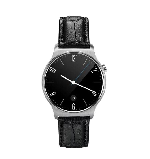 Fashion GW01 Smart Watch Bluetooth 4.0 SmartWatch Սրտի գնահատման մոնիտոր Android 4.3 iOS 7 IPS կլոր էկրանով կյանքի դիմացկուն ջրի համար