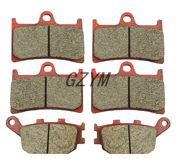 Motorcycle Ceramic Front Rear Brake Pads For Yamaha YZF R1 2004 2005 2006 mfs motor motorcycle part front rear brake discs rotor for yamaha yzf r6 2003 2004 2005 yzfr6 03 04 05 gold