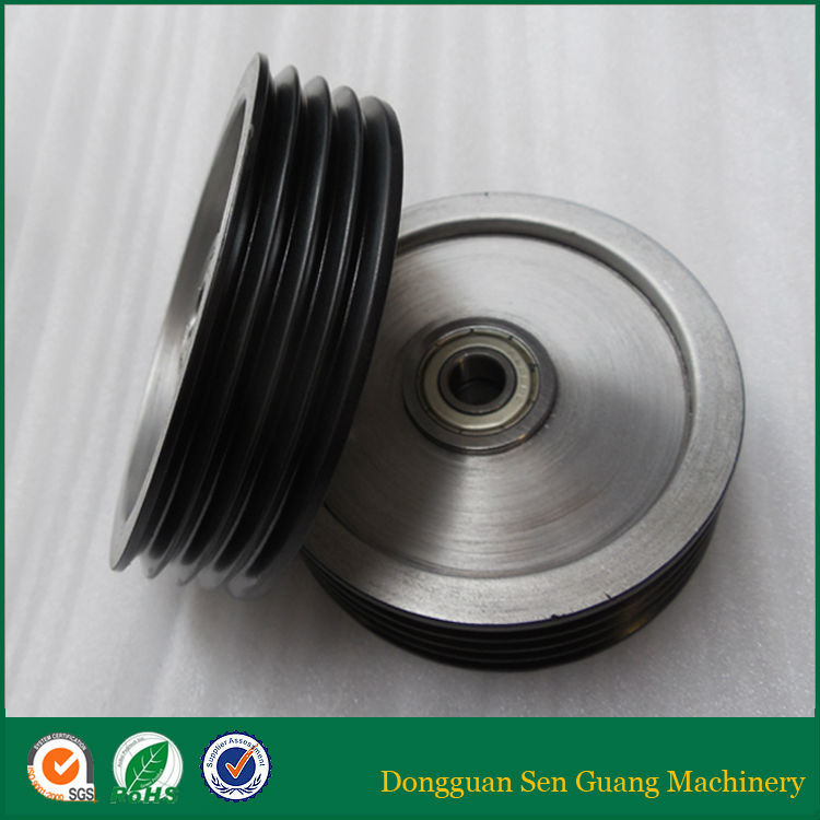 Middle /Large Wire Drawing Machine Ceramic Coated Stainless steel wire rope pulley wheels