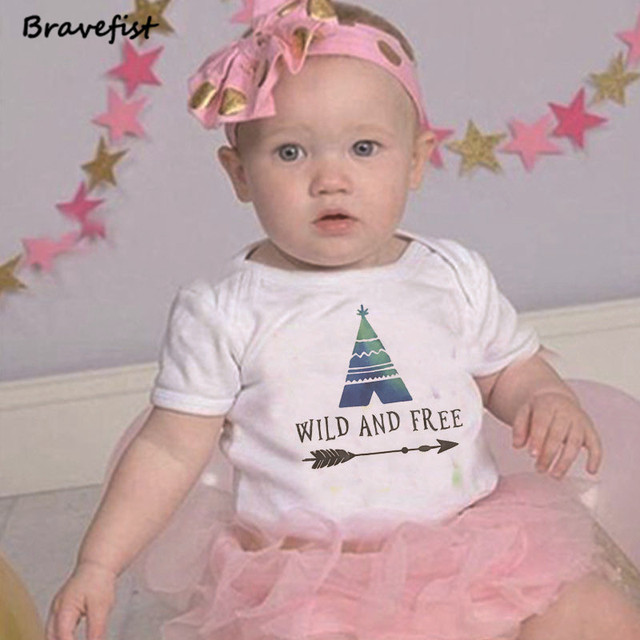 Summer Newborn Bodysuits Short Sleeve Infant Outfits 0-2Y Kids Outwear Round Neck Children Clothing For Boys Girls Onesie Tees